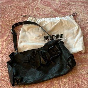 Black Moschino Handbag